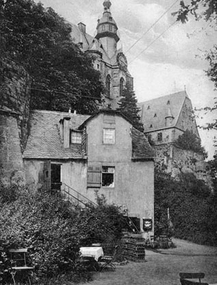 Historischer Bückingsgarten in Marburg